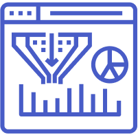 Contextual data analytics icon