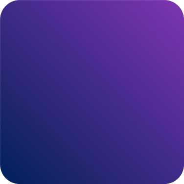 Square graphic with color gradient