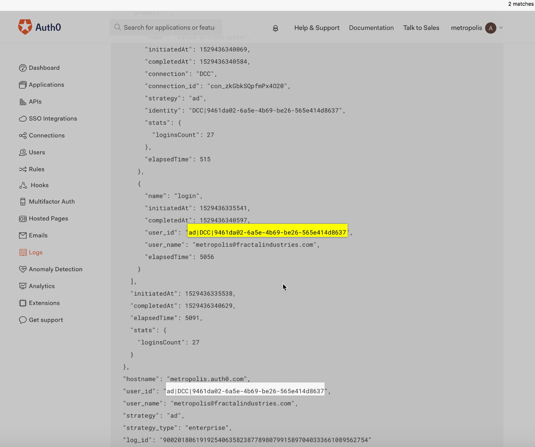 GT attack Auto0 logs logID