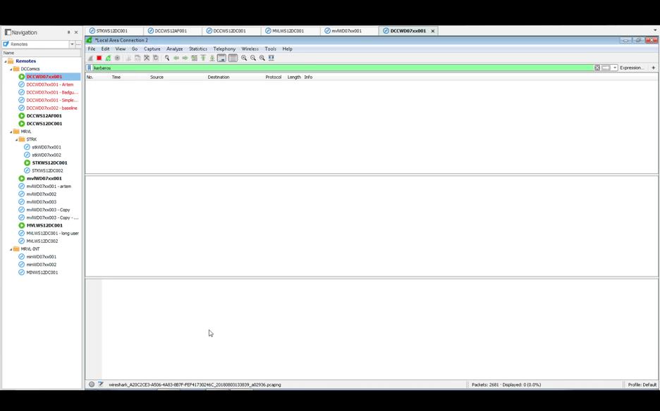 Wireshark Page