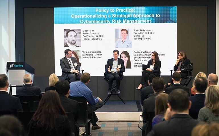 panelists at Nasdaq event discuss cybersecurity
