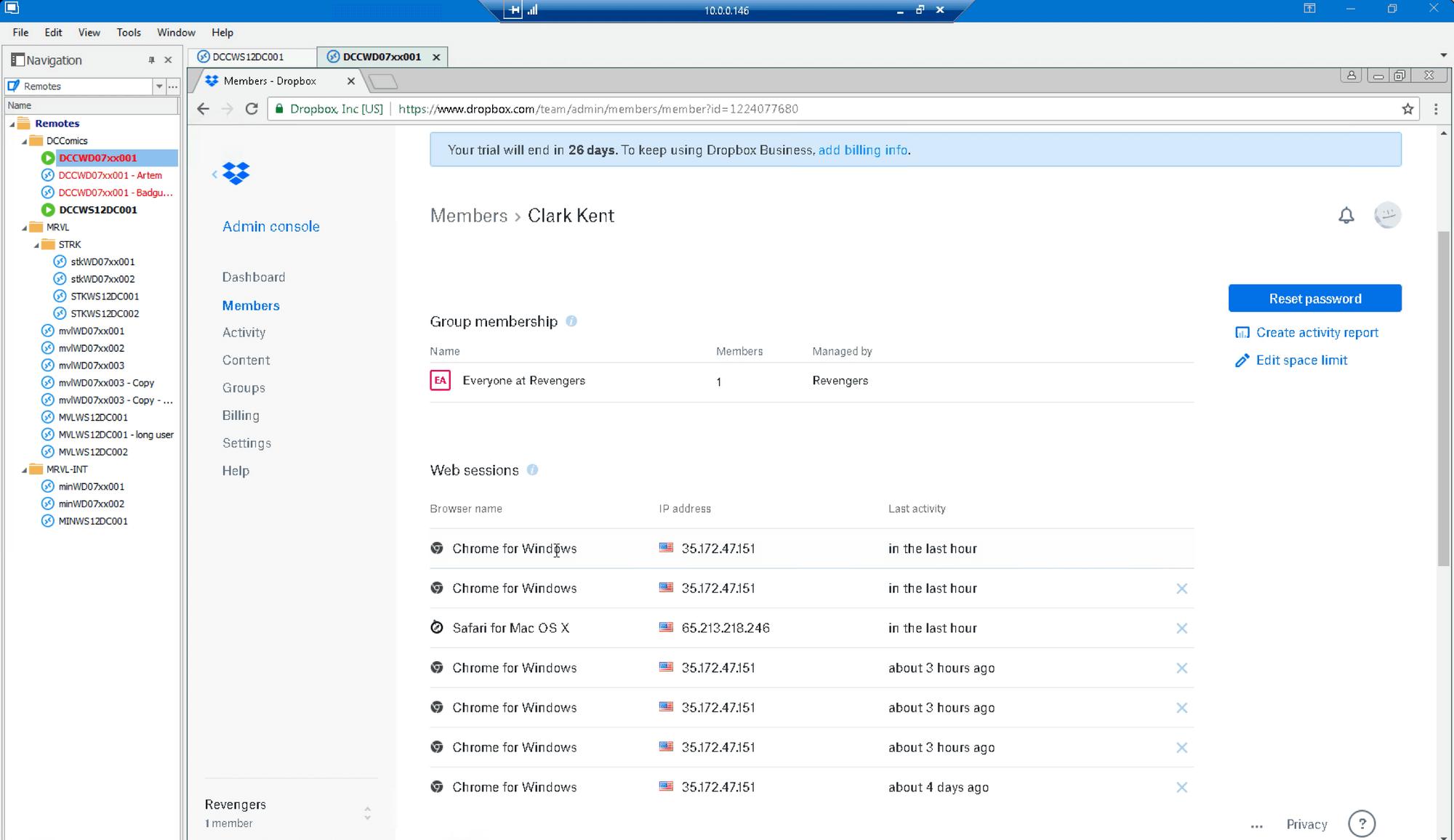 Dropbox Confirm Login